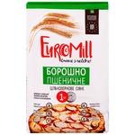 Мука EuroMill пшеничная цельнозерновая сеяная 1кг