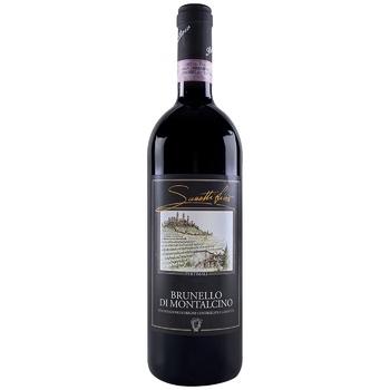 Sassetti Livio Brunello di Montalcino Dry Red Wine 14.5% 0,75l - buy, prices for CityMarket - photo 1