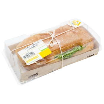 Ciabatta ready meals Without brand with cheese ready 195g Ukraine