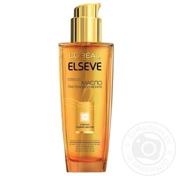 Олія L'Oreal Elseve екстраординарна 6 олій рідкісних квітів для всіх типів волосся 100мл - купити, ціни на Novus - фото 1
