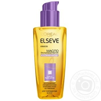 Elseve Repairing Oil for Damaged Hair 100ml - buy, prices for Auchan - photo 1