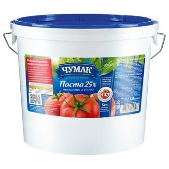 Паста томатная Чумак ведро 5кг
