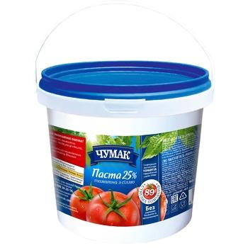 Паста томатная Чумак 25% 1кг