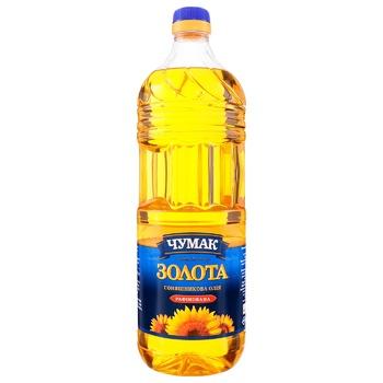 Chumak Zolota Refined Sunflower Oil 2l - buy, prices for CityMarket - photo 1