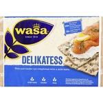 Wasa Delikatess Rue Yeastless Crispbreads 270g