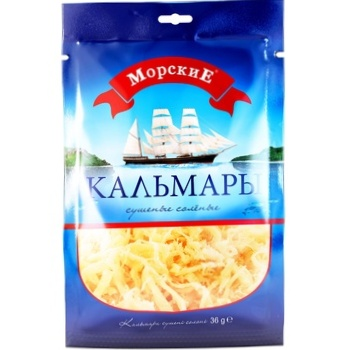 Morskie salted dried squid 36g - buy, prices for CityMarket - photo 3