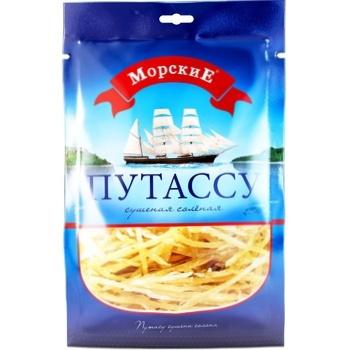 Тунец Морские серебристый солено-сушеный 36г Украина - купить, цены на Восторг - фото 3