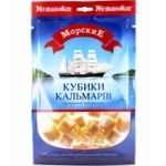 Morskiye Dried-Salted Squid Cubes 36g