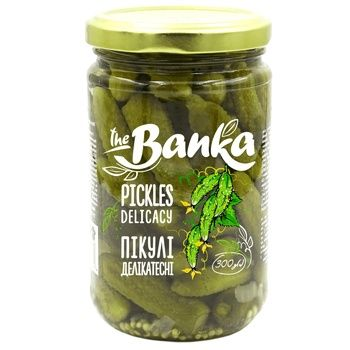 Cucumbers jar 300g gourmet pickles - buy, prices for CityMarket - photo 1