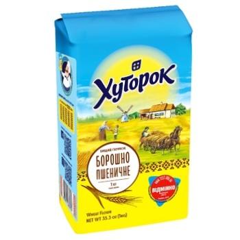 Khutorok Wheat Flour 1kg - buy, prices for CityMarket - photo 2