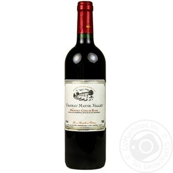 Chateau Mayne -Vieil Dry Red Wine 14,5% 0,75l - buy, prices for CityMarket - photo 1