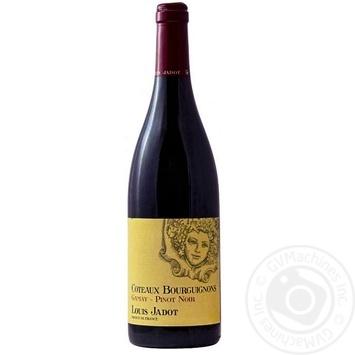 Вино Louis Jadot Coteaux Bourguignons Gamay Pinot Noir червоне сухе 12% 0,75л - купити, ціни на CітіМаркет - фото 1