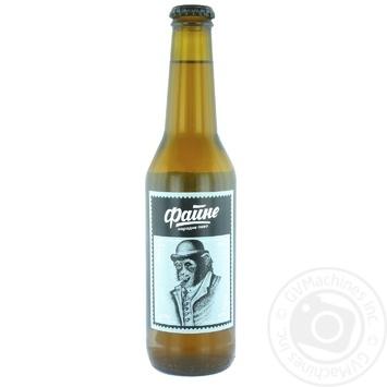 Пиво Файне Lager 4% 0,33л