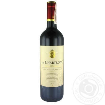 Вино Chateau Les Chartrons Blaye 2014 красное сухое 12% 0,75л