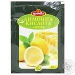 Лимонная кислота Аромикс 20г