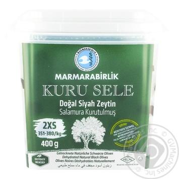 Оливки черные Marmarabirlik вяленые 400г - купить, цены на Novus - фото 2