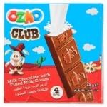 Ozmo Club with Milk Cream Milk Chocolate Bar 44g