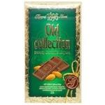 Шоколад молочный Бисквит-Шоколад Оld Collection с миндалем 32% 200г