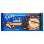 Шоколад темный E. Wedel с начинкой крем брюле 100г