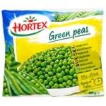 Горошок Hortex зелений заморожений 400г