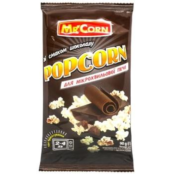 Попкорн Mr'Corn зі смак.шоколаду д/мхп 90г - купить, цены на СитиМаркет - фото 1