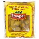Оливки Fruyper зелені з кісточкою  90г
