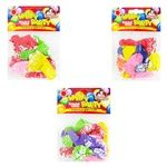 Pomichnytsya Happy Party Balloons with Pattern 10pcs