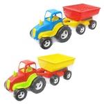Игрушка Трактор колесный с прицепом
