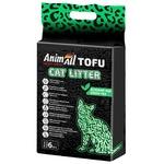 Наполнитель AnimAll Тофу гигиенический с ароматом зеленого чая 6л