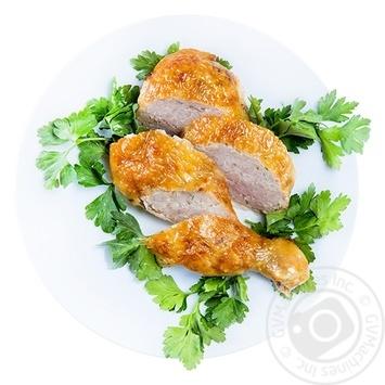 Окорок куриный фаршированный