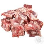 Chilled beef bones
