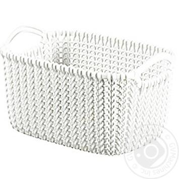 Корзинка Curver Knit арт 03675 - купити, ціни на МегаМаркет - фото 1