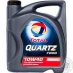 Масло Total Quartz моторное 7000 10W-40 5л