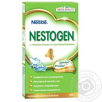 Смесь молочная сухая Nestle Nestogen 4 350г - купить, цены на Novus - фото 1