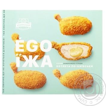 Котлета по-київськи Бащинський Ego Їжа 400г - купити, ціни на МегаМаркет - фото 1
