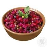 Vegetable vinaigrette salad