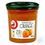Джем Ашан апельсиновий 360г