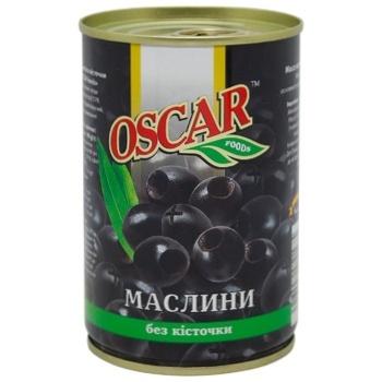 Маслины Oscar без косточки 300г - купить, цены на Ашан - фото 1