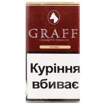 Тютюн Graff Cherry 30г - купити, ціни на CітіМаркет - фото 1