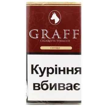 Graff Cherry Tobacco 30g - buy, prices for CityMarket - photo 1