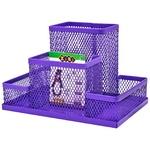 Подставка настольная ZiBi металлическая 15x10x10см фиолетовый