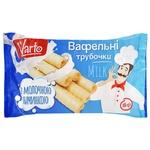 Varto Wafer Rolls with Milk Filling 150g