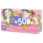 Платочки бумажные Bella Baby Happy универсальные двухслойные 150шт