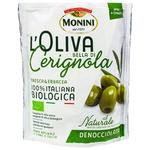 Оливки Monini Белла ді Черіньола без кісточки 150г
