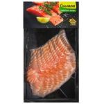 Slightly Salted Sliced Salmon Fillet