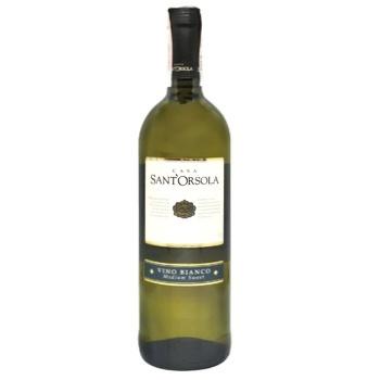 Вино Casa Sant'Orsola Bianco белое полусладкое 11% 0,75л - купить, цены на СитиМаркет - фото 1