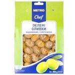 Оливки Metro Chef зеленые маринованные 250г