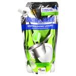 Засіб для миття посуду Wash&Free Зелене яблуко і екстракт едельвейса 500г