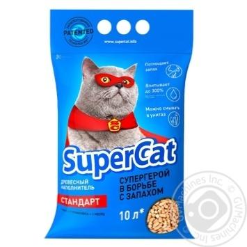 Наповнювач Super Cat Стандарт 3 кг - купити, ціни на Ашан - фото 1