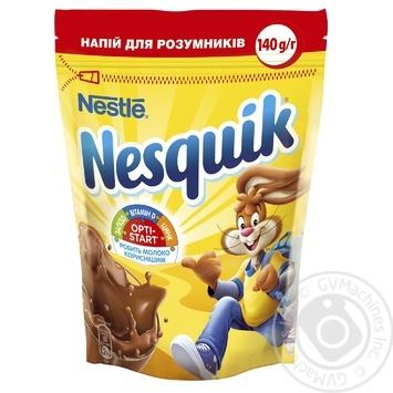 Какао напиток Nesquik Opti Start 140г - купить, цены на Novus - фото 1